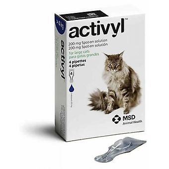 Activyl Spot-On for Cats Over 9 lbs (4 kg) - 4 Pipettes