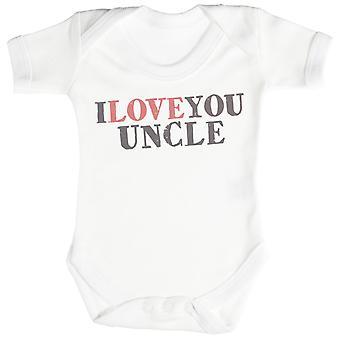 Ti amo zio Baby Bodysuit / tutina
