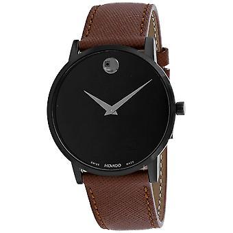 Movado Men-apos;s Museum Classic Black Dial Watch - 607198