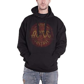 AC/DC Hoodie High Voltage Vintage Band Logo new Official Mens Black Pullover