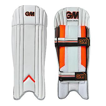 Gunn & Moore 2018 Mana Plus Cricket Wicket Keeping Pads Leg Guards