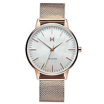 MVMT Boulevard Sunset Women's Watch Wristwatch stainless steel MB01-RGPL