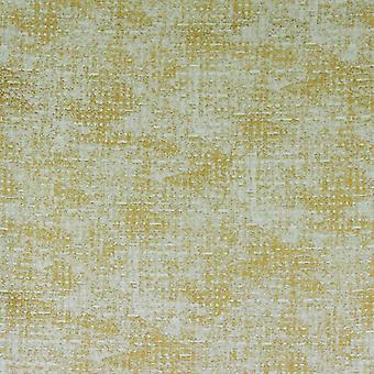 Tissu jaune moutarde ignifuge de filon de Mcalister