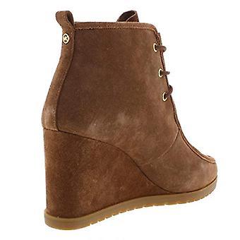 MICHAEL Michael Kors femei Tamara Suede glezna papuceii Brown 6,5 mediu (B, M)