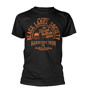 Svart etikett Society Zakk Wylde orange Print officiell T-shirt