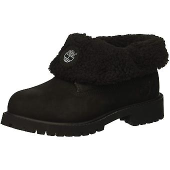 Timberland Kids' Icon Collection Roll-top with Fleece Fashion Boot