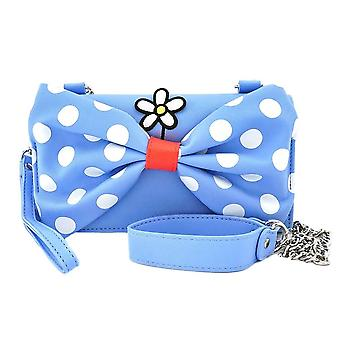 Loungefly x Disney positiivisesti Minnie Polka Dot Cross Body ranne koru laukku