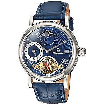 Relógio analógico de Burgmeister Unisex com pulseira de couro BM226-133