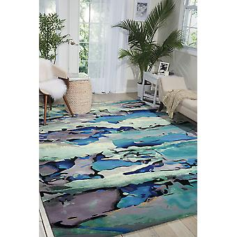 Prismatic PRS04 Seaglass Rectangle Rugs Modern Rugs