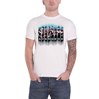 أعجوبة المنتقمون تي قميص صور شعار جديد الرسمية الرجال الأبيض