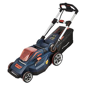 Cordless 84V Lawn Mower 7 Cutting Heights - Samsung Li-Ion Battery & Charger