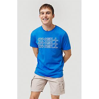 O'Neill Men's T-paita ~ 3PLE sininen