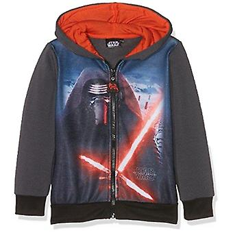 Star wars boys hoodie sweat jacket zip