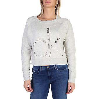 Calvin Klein Original Women Fall/Winter Sweatshirt - Brown Color 38193