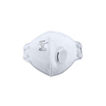 Portwest ffp3 valved dolomite fold flat respirator p351