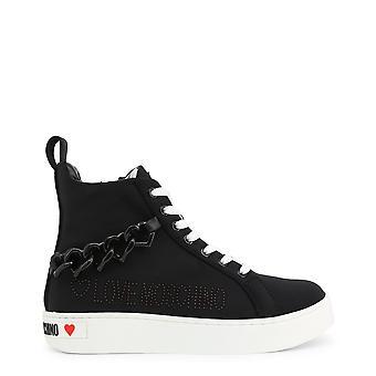 Kærlighed Moschino Originale Kvinder Forår / Sommer Sneakers Sort Farve - 72668