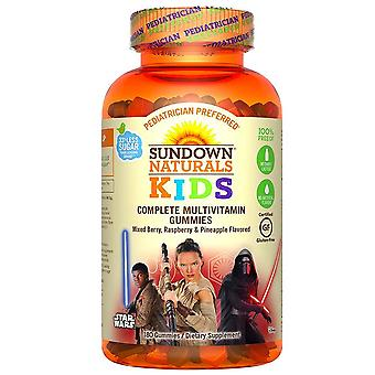 Sundown naturals kids star wars complete multivitamin, gummies, 60 ea