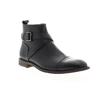 English Laundry Edmond  Mens Black Leather Casual Dress Boots Shoes