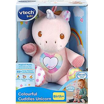 Vtech Colourful Cuddles Unicorn Soft Toy