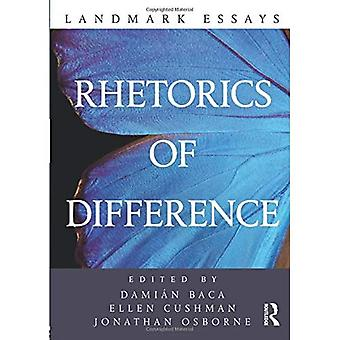 Landmark Essays on Rhetorics of Difference (Landmark Essays)