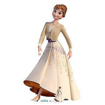 Robe crème Anna de Frozen 2 Officiel Disney Carton Découpe / Standee