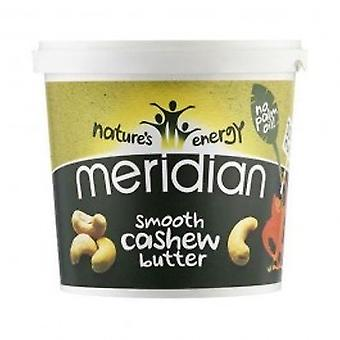 Meridian - Natural Cashew Butter Smooth 1000g