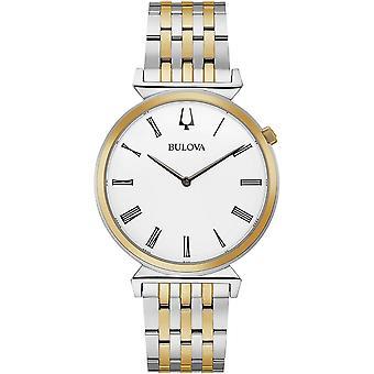 Bulova 98A233 Herren's Regatta Zwei Ton Armbanduhr