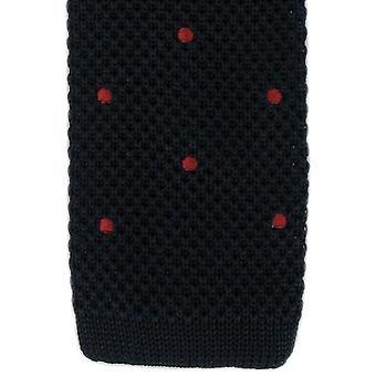 Eingewandt London Spot entwerfen Krawatte - dunkelblau/rot
