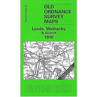 Leeds - Wetherby and District 1910 - One Inch Sheet 070 by John Griffi
