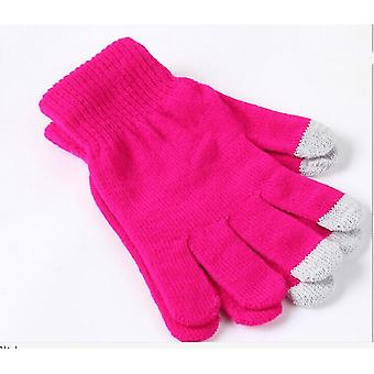 Microsoft Surface Go 2 Pink Winter Touchscreen Gloves (One size)