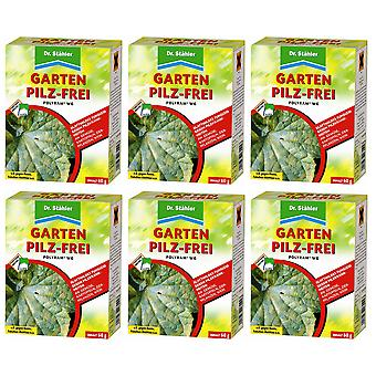 Sparset: 6 x DR. STÄHLER Polyram WG Garden Mushroom-Free, 60 g