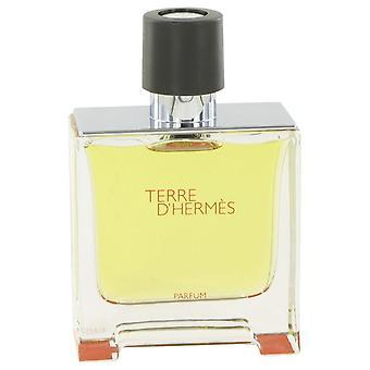 Terre D'hermes reinen Parfüm Spray (Tester) von Hermes 2,5 Unzen reines Parfum Spray