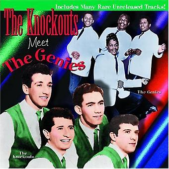 Knockouts/Genies - Knockouts Meet the Genies [CD] USA import