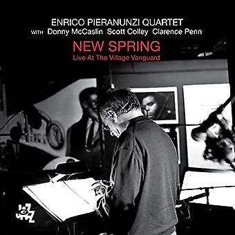 Enrico Pieranunzi Quartet - New Spring-Live at the Village Vanguar [CD] USA import