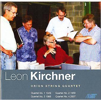 Leon Kirchner - Leon Kirchner: quatuors à cordes nos 1-4 [CD] USA import