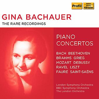 Bach, J.S. / Bachauer - Rare Recordings [CD] USA import