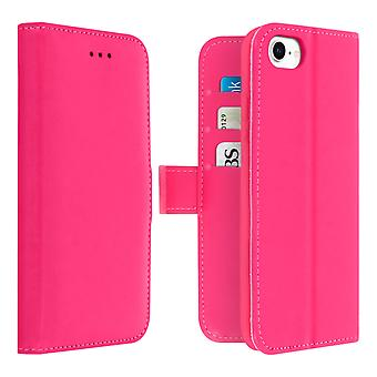 Cover for iPhone SE 2020/8/7 Cardholder Function Kado Dux Ducis Pink