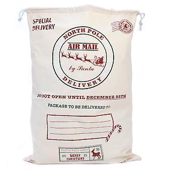 Santa's North Pole Delivery - Reusable Christmas Gift Bag