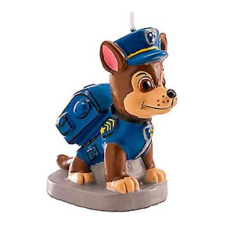 Paw Patrol Tort Lumânare 3D Chase multicolor, 3D Tort Candle Chase.