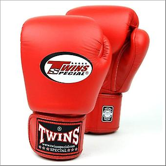 Twins special red boxing gloves