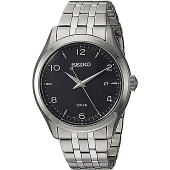 Seiko Solar Watch SNE489P1 - Stainless Steel Gents Solar Analogue