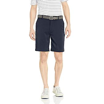 Essentials Men's Standard Classic-Fit Stretch Golf Short, Navy, 32