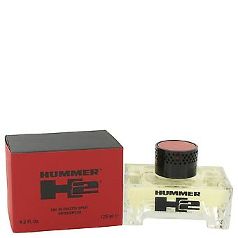 Hummer H2 de Hummer Eau De Toilette Spray 4,2 oz/125 ml (hommes)