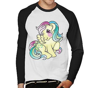 My Little Pony Skydancer Sitting Men's Baseball Long Sleeved T-Shirt
