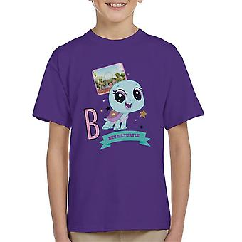 Littlest Pet Shop Bev Gilturtle Kid's T-Shirt