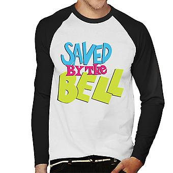 Saved By The Bell Coloured Logo Men's Baseball Long Sleeved T-Shirt