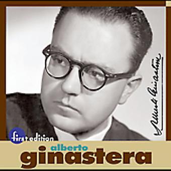 A. Ginastera - Alberto Ginastera [CD] USA import