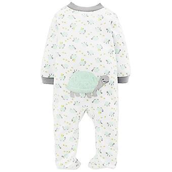 Proste radości przez Carter & apos; s Baby Neutral 2-Pack Cotton Footed Sleep and Play, Bea ...