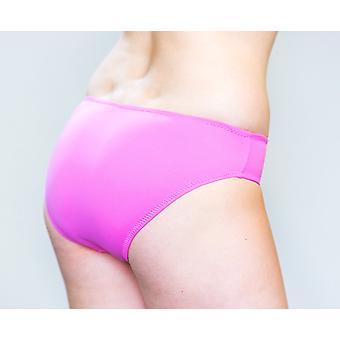 Aqua Perla  Womens Izmir Pink  Bikini Bottom
