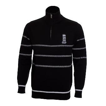 England Cricket Cricket Zip Sweater Mens